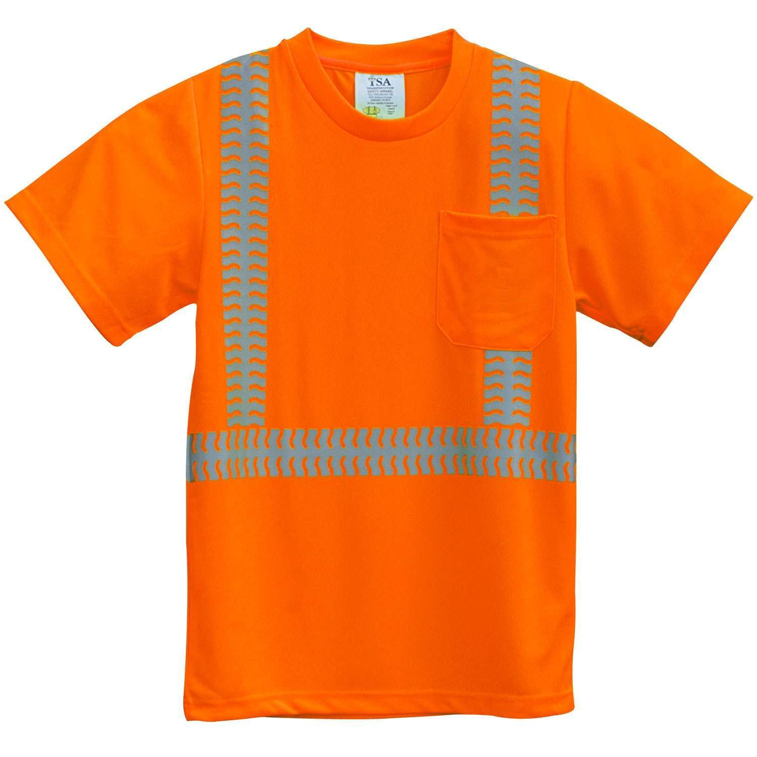More views for High visibility safety t shirts