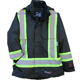 Viking Professional Journeyman FR Waterproof Flame Resistant Jacket 2XL Black
