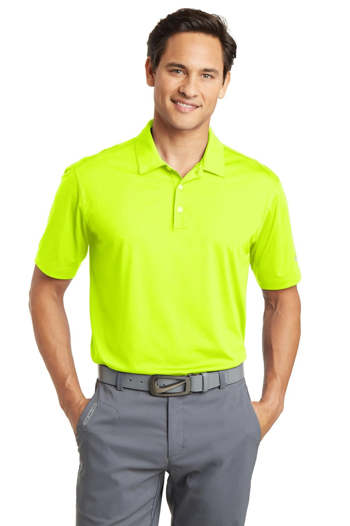 Nike Golf Dri Fit Vertical Mesh Polo Business Casual Shops