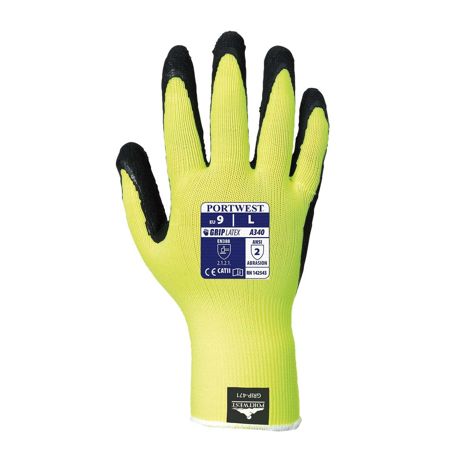 Hi-Vis Grip Glove