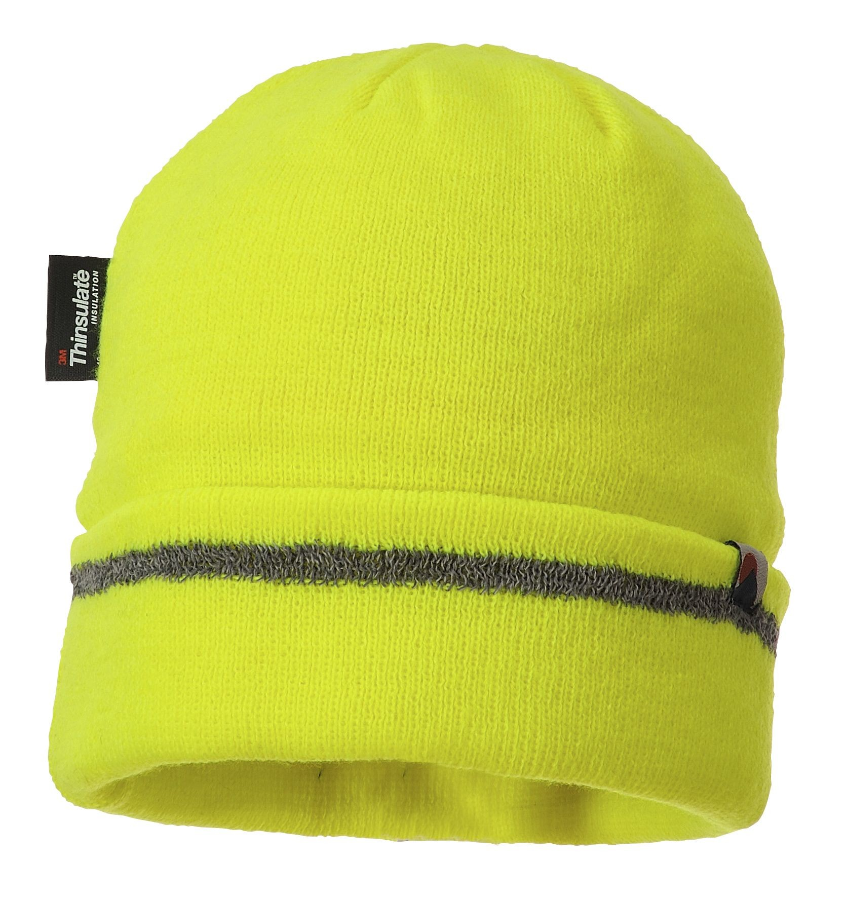 f77b986e3c167a Thinsulate Lined Knit Cap with Reflective Trim