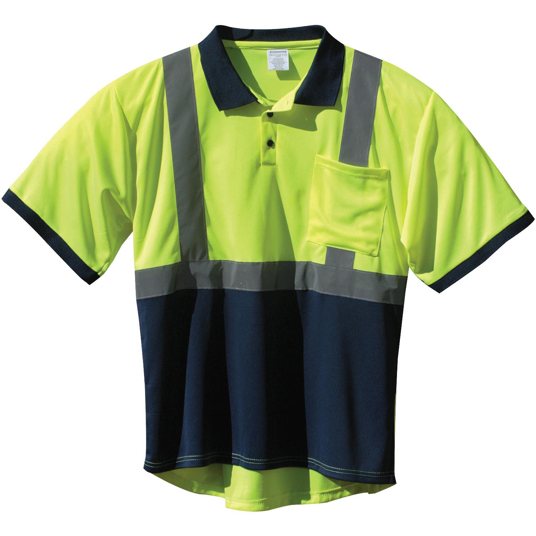 0c25cf46f Hi-Vis ANSI 2 Two-Tone Polo Shirt