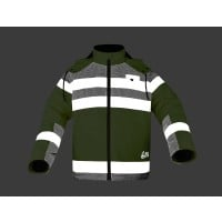 Night Glow Sherpa Lined Heavy Weight Jacket Image