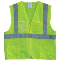 TSA HI-VIS VELCRO® MESH VEST WITH ID POCKET Image