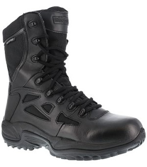 """Men's Reebok Stealth 8"""" Waterproof  Boot with Side Zipper"""