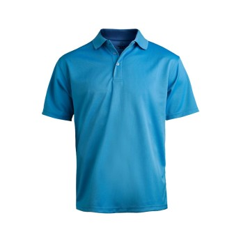 EDWARDS MEN'S HI-PERFORMANCE MESH SHORT SLEEVE POLO