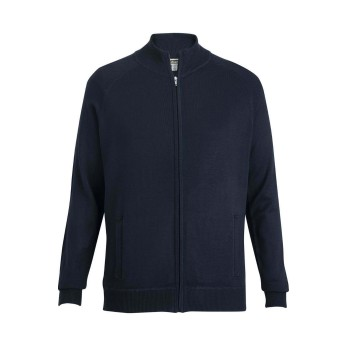 Edwards Full Zip Sweater Jacket with Pockets