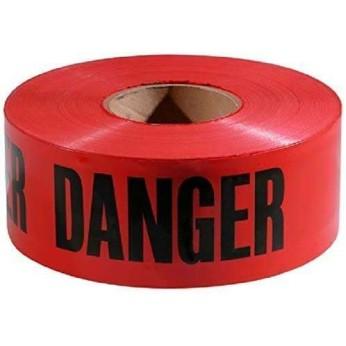 3 MIL BARRICADE TAPE: DANGER