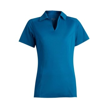 EDWARDS LADIES' MICRO PIQUE SHORT SLEEVE POLO