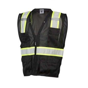 Enhanced Visibility Multi Pocket Mesh Vest
