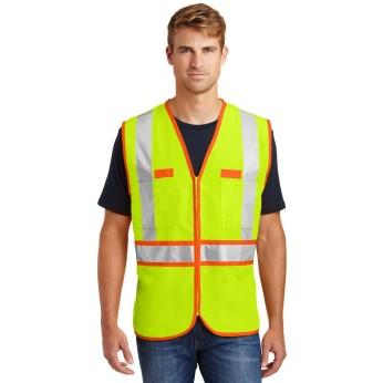 Safety Yellow / Safety Orange