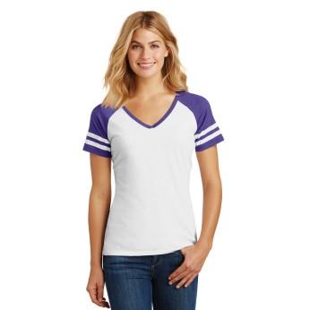 White / Heather Purple