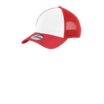 White / Scarlet Red
