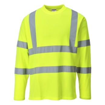Hi-Vis T-Shirt Long Sleeves