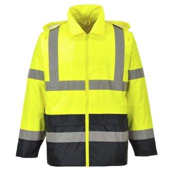 Hi-Vis Contrast Rain Jacket