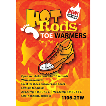 Hot Rods Toe Warmers-Pack of 5 Pairs