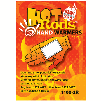 Hot Rods Hand Warmers-Pack of 5 Pairs
