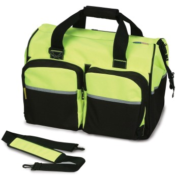 HI-VIS REFLECTIVE DELUXE GEAR BAG