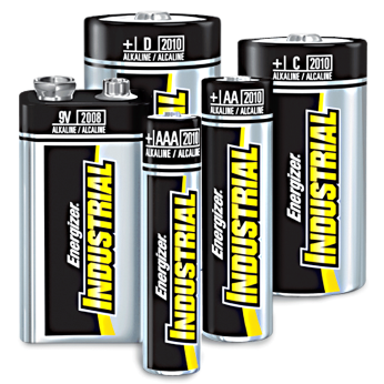 Industrial Pack Energizer Batteries