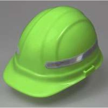 ANSI REFLECTIVE HARD HAT STRIPS (sheet of 7)
