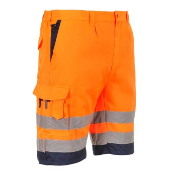 Hi-Vis Orange / Navy