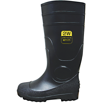 PVC KNEE BOOTS WITH STEEL TOE