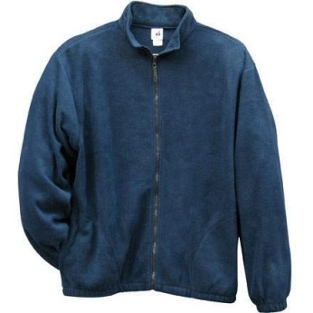 Navy Fleece Full Zipper Jacket