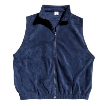 FULL ZIP FLEECE VEST