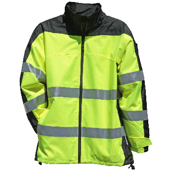 OCCUNOMIX HI-VIS PREMIUM BREATHABLE RAIN JACKET