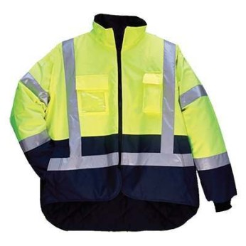 ANSI 3  Reflective Quilted 3-Season Jacket