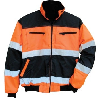 ANSI 2 REFLECTIVE ORANGE REVERSIBLE 3-SEASON JACKET