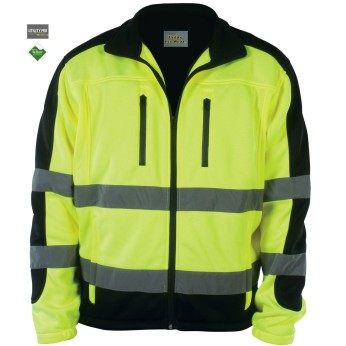Utility Pro Wear™ Hi-Vis Men's Full-Zip Soft Shell Jacket
