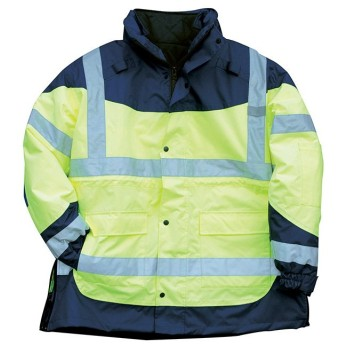 TSA EXTREME HI-VIS SAFETY JACKET