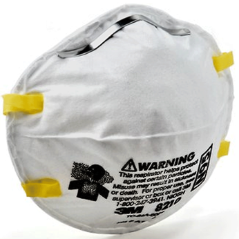 N95 PARTICULATE RESPIRATOR, ADJUSTABLE NOSE (BOX)