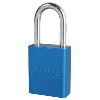 "Aluminum 1-1/2"" Safety Padlock"