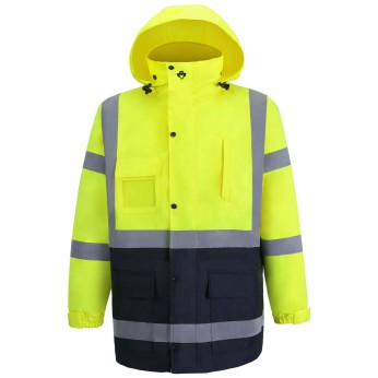 Hi-Vis Lime / Navy