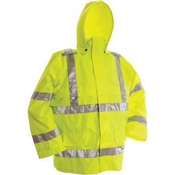 ANSI 3 Rip Stop Rain Jacket