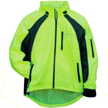 Toadz Kikker II™ Reflective Two-Tone Rain Jacket