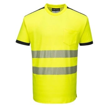 PW3 Hi-Vis Short Sleeve T-Shirt