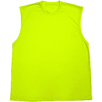 BRIGHT SHIELD HI-VIS PERFORMANCE SHOOTER SLEEVELESS T-SHIRT