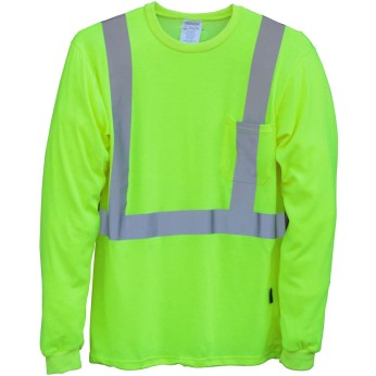 Premium Flame Resistant Long Sleeve Safety T-Shirt