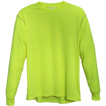 Hi Vis Lime Premium Long Sleeve T-Shirt