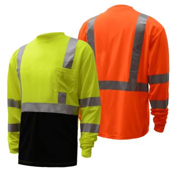 ANSI 3 Two-Tone Long Sleeve T-Shirt