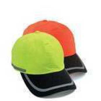 Two-Tone Hi-Vis Reflective Safety Cap