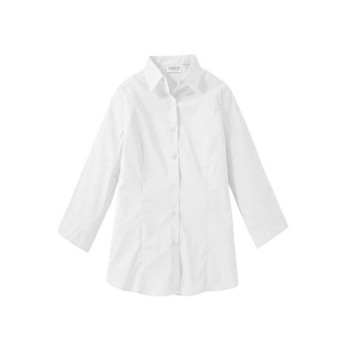 EDWARDS LADIES' TAILORED MATERNITY STRETCH BLOUSE-3/4 SLV