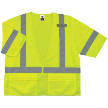 ANSI 3 HI-VIS BASIC MESH SAFETY VEST