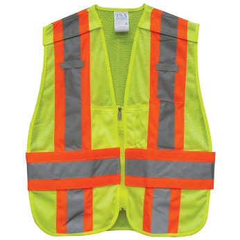 ANSI 2 5 PT TEAR-AWAY DOT SAFETY VEST