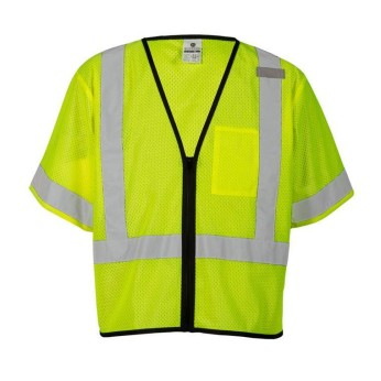 Single Pocket Zipper Vest