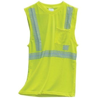 ANSI 2 MESH SLEEVELESS SAFETY TEE